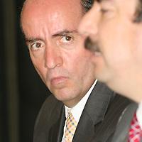 TOLUCA, México.- Edgar Cerecero López, presidente de la Confederación Patronal de la República Mexicana (Coparmex), se pronunció en contra de los criterios emitidos por la Suprema Corte de Justicia de la Nación  (SCJN), en el sentido de que, para jubilarse, los trabajadores afiliados al IMSS tendrán un tope para el cálculo del monto que les corresponde de 10 veces el salario mínimo vigente en lugar de 25 salarios mínimos. Agencia MVT / José Hernández. (DIGITAL)