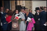 AYESHA SHAND; LADY GABRIELA WINDSOR; ANNABEL ELLIOT, Memorial service for Mark Shand.  . St. Paul's Knightsbridge. September 11 2014.