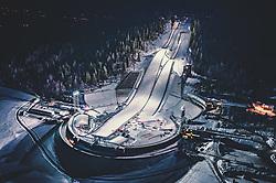 11.03.2019, Lillehammer, NOR, unterwegs in Norwegen, im Bild die Groß- und Normalschanze der Lysgardsbakken Skisprungschanzenanlage. Die Anlage wurde für die Olympischen Winterspiele 1994 errichtet. Im zu den Schanzen gehörenden Stadion fanden die Eröffnungs- und Schlussfeier der Spiele statt // the large and normal hill of the Lysgardsbakken ski jump complex. The facility was built for the 1994 Olympic Winter Games. The opening and closing ceremonies of the games took place in the stadium belonging to the ski jumps. in Lillehammer, Norway on 2019/03/11. EXPA Pictures © 2019, PhotoCredit: EXPA/ JFK