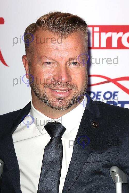 Lee Pearson, Pride of Sport Awards, Grosvenor House Hotel, London UK, 07 December 2016, Photo by Richard Goldschmidt