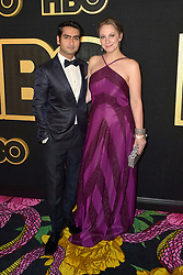 September 17, 2018 - West Hollywood, Kalifornien, USA - Kumail Nanjiani mit Gattin Emily V. Gordon bei der HBO Aftershow Party der 70. Primetime Emmy Awards im Pacific Design Center. West Hollywood, 17.09.2018 (Credit Image: © Future-Image via ZUMA Press)