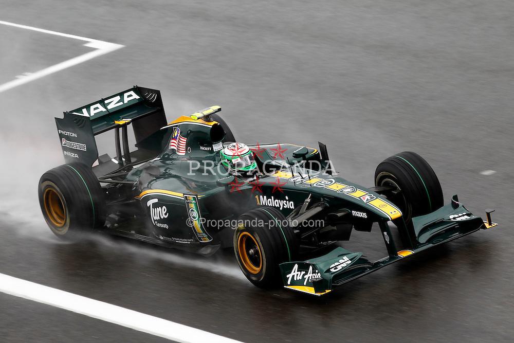 Motorsports / Formula 1: World Championship 2010, GP of Belgium, 19 Heikki Kovalainen (FIN, Lotus F1 Racing),