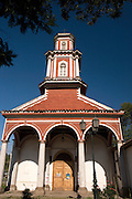 Church in the Maipo Valley, Chile