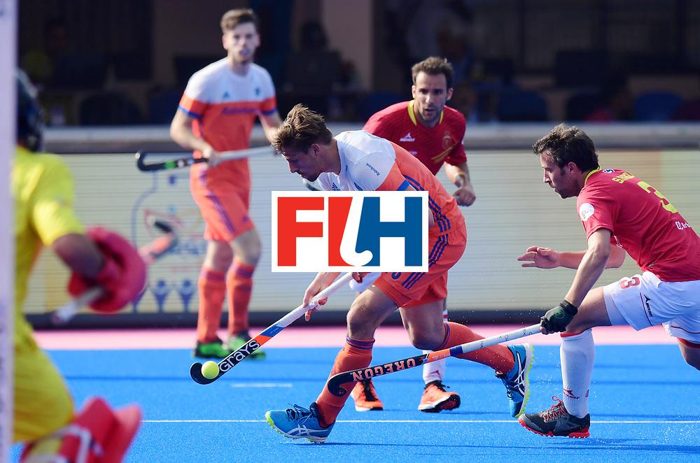Odisha Men's Hockey World League Final Bhubaneswar 2017<br /> Match id:04<br /> Netherlands vs Spain<br /> Foto: Bjorn Kellerman (Ned) <br /> WORLDSPORTPICS COPYRIGHT FRANK UIJLENBROEK