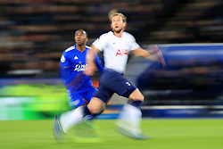 Tottenham Hotspur's Harry Kane in action