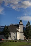 Norway. Norge Bardu kirke.