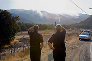 Sylmar wildfire, Novermber 2008, California, USA