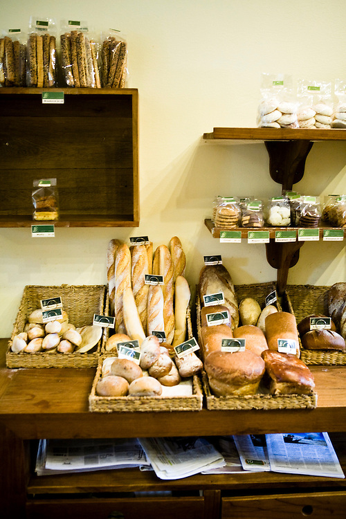 The Shop bread selection