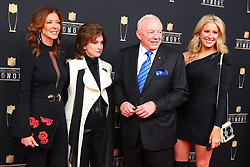 February 2, 2019 - Atlanta, GA, U.S. - ATLANTA, GA - FEBRUARY 02:  Jerry Jones poses for photos on the red carpet at the NFL Honors on February 2, 2019 at the Fox Theatre in Atlanta, GA. (Photo by Rich Graessle/Icon Sportswire) (Credit Image: © Rich Graessle/Icon SMI via ZUMA Press)