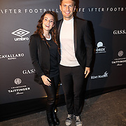 NLD/Amsterdam/20151110 - Life After Football Award 2015, Gwen van poorten en Evgeniy Levchenko