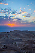 Sunrise in the Judean Desert, Israel