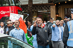 Demonstrators gathered outside India House in London to show support for Kashmiris and to protest against occupation and oppression by India in Kashmir.<br /> <br /> Police worked to keep the protesters and counter protesters apart through use of barriers, mounted police and lines of police.<br /> <br /> Richard Hancox   EEm 15082019