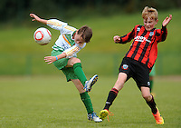 13 Aug 2016:  Boys U12 semi-final, Galway v Donegal.  2016 Community Games National Festival 2016.  Athlone Institute of Technology, Athlone, Co. Westmeath. Picture: Caroline Quinn