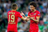 GRONINGEN, 17-05-2017, FC Groningen - AZ,  Noordlease Stadion, AZ speler Dabney dos Santos Souza, AZ speler Calvin Stengs