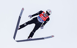 28.02.2019, Seefeld, AUT, FIS Weltmeisterschaften Ski Nordisch, Seefeld 2019, Nordische Kombination, Skisprung, im Bild Taylor Fletcher (USA) // Taylor Fletcher of the USA during the Ski Jumping competition for Nordic Combined of FIS Nordic Ski World Championships 2019. Seefeld, Austria on 2019/02/28. EXPA Pictures © 2019, PhotoCredit: EXPA/ JFK
