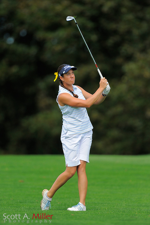 Izzy Beisiegel during the second round of the LPGA Future Tour's Price Cooper Tour Championship at Capital Hills at Albany on Sept. 10, 2011 in Albany, N.Y...©2011 Scott A. Miller