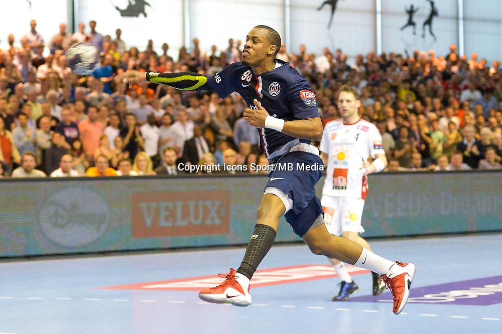 Jefrey M Tima  - 12.04.2015 - Paris Handball / Vezprem - Champions League<br />Photo :  Andre Ferreira  / Icon Sport