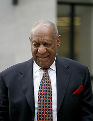 April 13, 2018 - Philadelphia, Pennsylvania, U.S. - Actor BILL COSBY arrives at at court for Day 5 of his Sexual Misconduct trial in Philadelphia. A former Temple University employee alleges that the entertainer drugged and molested her in 2004 at his home in suburban Philadelphia. More than 40 women have accused the 80 year old entertainer of sexual assault. (Credit Image: © William T Wade Jr/Ace Pictures via ZUMA Press)