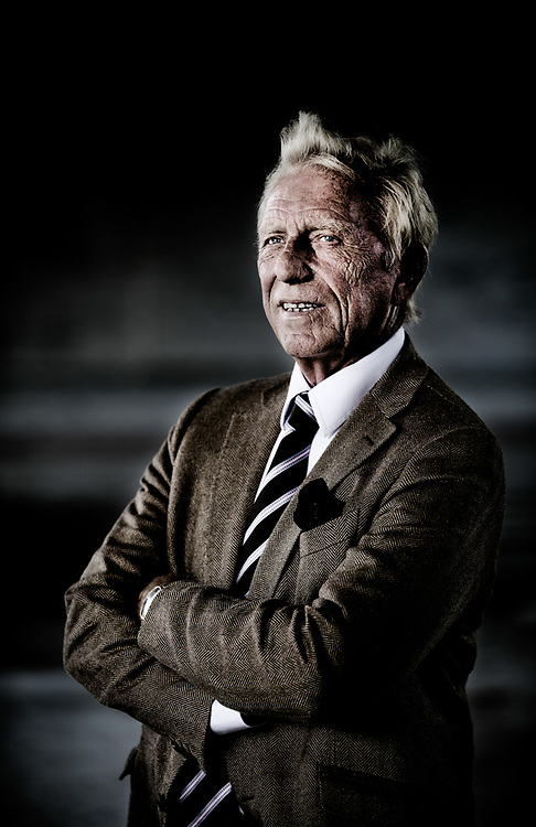 Former Belgian hockey player Philippe Collin, now chairman of the technical commission of the Royal Belgian Football Association (Belgium, 22/10/2013)