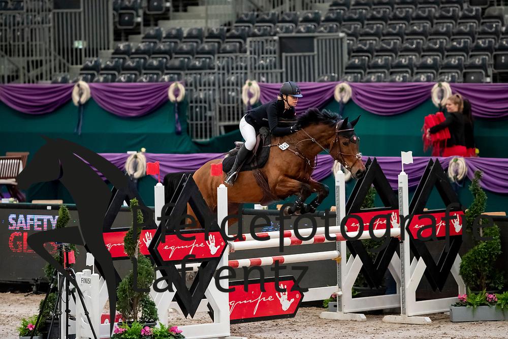 STEINLEITNER Andrea (GER), Baloubina<br /> Leipzig - Partner Pferd 2019<br /> SPOOKS-Amateur Trophy<br /> Small Tour<br /> 18. Januar 2019<br /> © www.sportfotos-lafrentz.de/Stefan Lafrentz