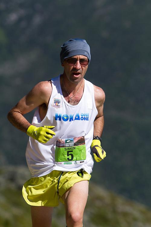 53rd Mt Washington 7.6 mile Road Race Base to Summit: Simon Guiterrez