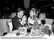 Michail Barisnicov and Susan Gutfreund.  Valentino party. Rome. 7 June 1991. Film 91543f27<br />