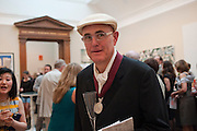 HUMPHREY OCEAN, Royal Academy of Arts Summer Exhibition Preview Party 2011. Royal Academy. Piccadilly. London. 2 June <br /> <br />  , -DO NOT ARCHIVE-© Copyright Photograph by Dafydd Jones. 248 Clapham Rd. London SW9 0PZ. Tel 0207 820 0771. www.dafjones.com.