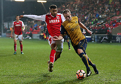 Gustav Engvall of Bristol City in action - Mandatory by-line: Matt McNulty/JMP - 17/01/2017 - FOOTBALL - Highbury Stadium - Fleetwood,  - Fleetwood Town v Bristol City - Emirates FA Cup Third Round Replay
