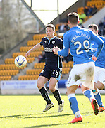 Dundee's Stephen McGinn - St Johnstone v Dundee, SPFL Premiership at McDiarmid Park<br /> <br />  - &copy; David Young - www.davidyoungphoto.co.uk - email: davidyoungphoto@gmail.com