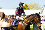 Zulu Zander ridden by Adam Kirby and trained by David Evan  - Ryan Hiscott/JMP - 19/04/2019 - PR - Bath Racecourse- Bath, England - Race 2 - Good Friday Race Meeting at Bath Racecourse