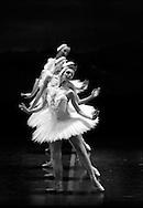Boston Ballet performs Swan Lake during a dress rehearsal at the Wang Center.