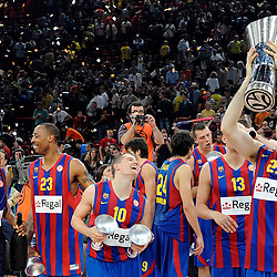 20100509: FRA, Euroleague Final Four Paris 2010, Regal Barcelona vs Olympiakos Piraeus