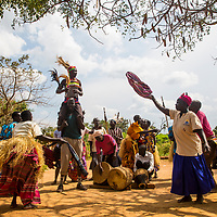 Song and dance by fistula survivors and advocates in Soroti, Uganda.