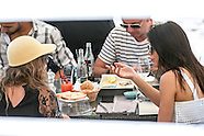 Cara Delevingne & Kendall Jenner Lunch In Cannes