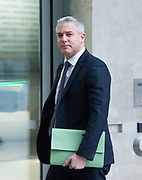 The Andrew Marr Show <br /> at the BBC, Broadcasting House, London, Great Britain <br /> 26th January 2020 <br /> <br /> Stephen Barclay MP, Brexit secretary<br /> <br /> Photograph by Elliott Franks