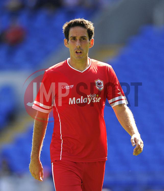 Cardiff City's Peter Whittingham - Photo mandatory by-line: Joe Meredith/JMP - Mobile: 07966 386802 02/08/2014 - SPORT - FOOTBALL - Cardiff - Cardiff City Stadium - Cardiff City v VfL Wolfsburg - Pre-Season Friendly