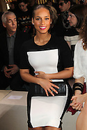 PARIS, FRANCE - MARCH 05:  Alicia Keys attends the Stella McCartney Ready-To-Wear Fall/Winter 2012 show as part of Paris Fashion Week on March 5, 2012 at the City Hall in Paris, France.  (Photo by Tony Barson/WireImage)
