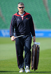 Lancashire's Head Coach Ashley Giles- Photo mandatory by-line: Harry Trump/JMP - Mobile: 07966 386802 - 08/04/15 - SPORT - CRICKET - Pre Season - Somerset v Lancashire - Day 2 - The County Ground, Taunton, England.