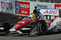 Mike Conway, Toyota Grand Prix of Long Beach, Streets of Long Beach, Long Beach, CA 04/15/12