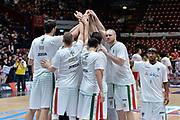 DESCRIZIONE : Beko Final Eight Coppa Italia 2016 Serie A Final8 Finale Olimpia EA7 Emporio Armani Milano - Sidigas Scandone Avellino<br /> GIOCATORE : Team Sidigas Scandone Avellino<br /> CATEGORIA : Before Pregame Fair Play<br /> SQUADRA : Sidigas Scandone Avellino<br /> EVENTO : Beko Final Eight Coppa Italia 2016<br /> GARA : Finale Olimpia EA7 Emporio Armani Milano - Sidigas Scandone Avellino<br /> DATA : 21/02/2016<br /> SPORT : Pallacanestro <br /> AUTORE : Agenzia Ciamillo-Castoria/L.Canu