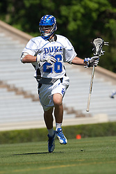 26 April 2009: Duke Blue Devils midfielder Robert Rotanz (26) during a 15-13 win over the North Carolina Tar Heels during the ACC Championship at Kenan Stadium in Chapel Hill, NC.