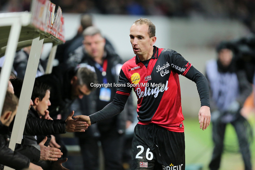 Thibault GIRESSE - 10.01.2015 - Guingamp / Lens - 20eme journee de Ligue 1<br />