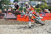 Redbull rider Chris Birch (NZL). Redbull City Scramble, Pier T, Westhaven, Auckland, New Zealand. Sunday 1 April 2012. Photo: Xavier Wallach / photosport.co.nz