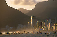 Ipanema Beach.Rio de Janeiro.Brazil