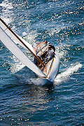 Alana, 6 Meter Class, racing in the Museum of Yachting Classic Yacht Regatta.