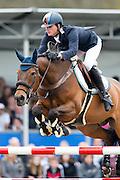 Doron Kuipers - Zinius<br /> Nederlands Kampioenschap Springen 2013<br /> © DigiShots