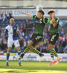Joe Wright of Doncaster Rovers (C) in action - Mandatory by-line: Jack Phillips/JMP - 12/08/2017 - FOOTBALL - Ewood Park - Blackburn, England - Blackburn Rovers v Doncaster Rovers - English Football League One