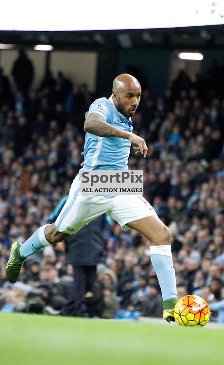 Fabian Delph during Manchester City vs Liverpool, Barclays Premier League, Saturday 21st November 2015, Etihad Stadium, Manchester