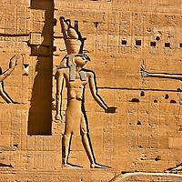 Isis, Horus, and Ptolemy at Edfu