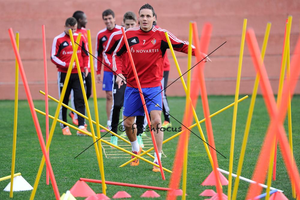 16.01.2014; Marbella; Fussball Super League - Training FC Basel;<br /> David Degen (Andy Mueller/freshfocus)